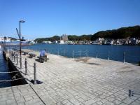 歴史を偲ぶ陸軍桟橋
