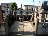 伊奈熊蔵忠勝の墓