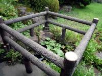 旧鍋平邸の吹き井戸跡