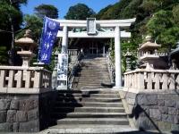 西叶神社二の鳥居