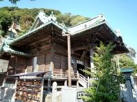 西叶神社社殿