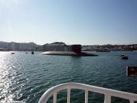 これもまた謎の潜水艦!?