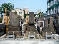瀧山家墓地