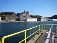 新造船用ドックと水路