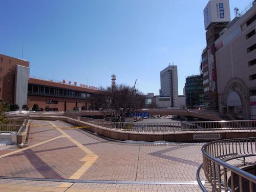 20110318仙台駅前