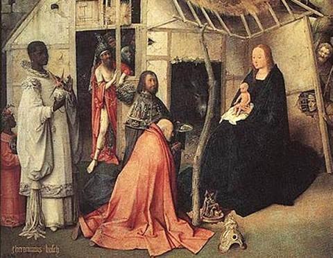 ルネッサンス期ネーデルランドの画家ヒエロニムス・ボスの作品の一部