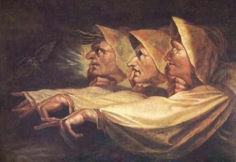 ロマン派スイス/イギリスの画家J・ハインリヒ・フュースリの作品