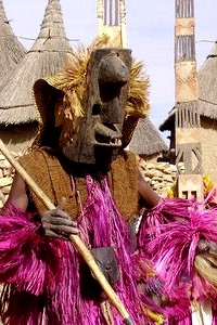 ドゴン族の仮面舞踏 From:Blog【SAHARAN VIBE:DOGON PEOPLE OF BANDIANGARA】