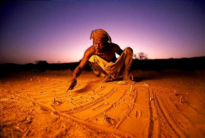 ドゴン族の占い師 From:Blog【SAHARAN VIBE:DOGON PEOPLE OF BANDIANGARA】