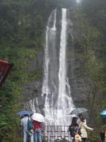 滝は増水できれいでしたが。