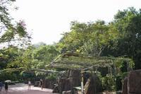 園内の通路はとても広いです。