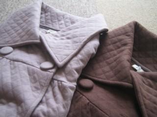 キルトニットジャケット2色