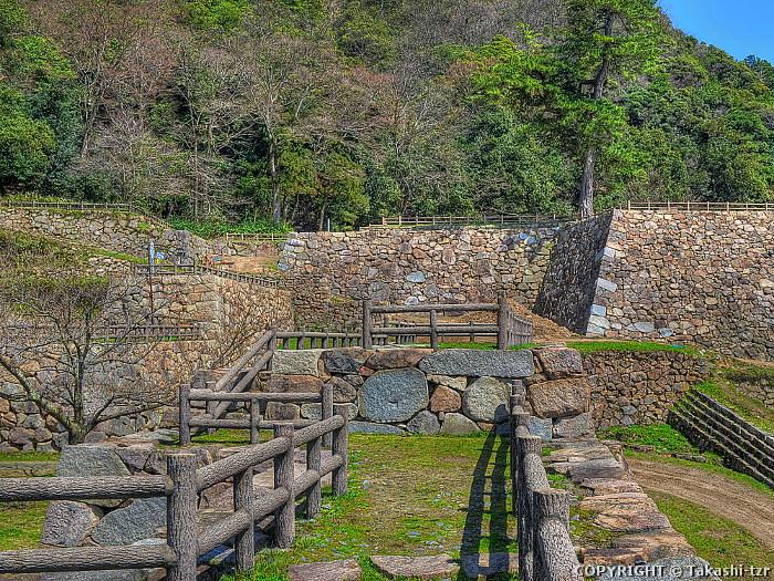 鳥取城跡附太閤ヶ平