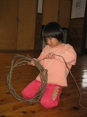 リース編み