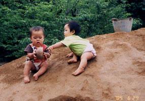 保育園の四季(0歳児)