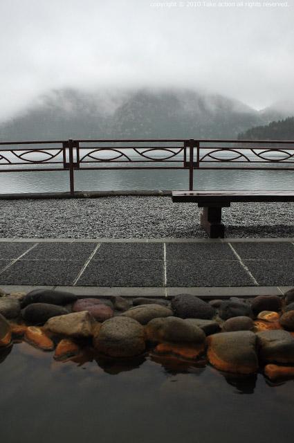 2011・5・21然別湖足湯からの眺め