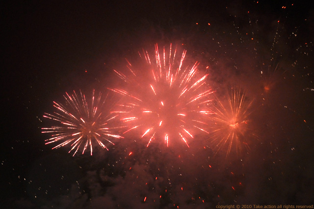 2011・7・17真駒内花火1