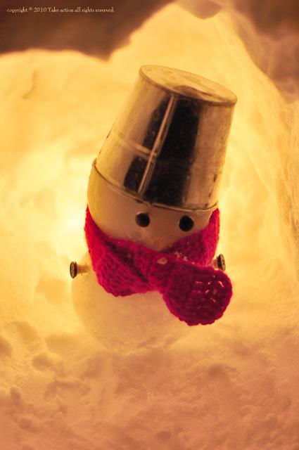 小樽雪あかり雪だるま4