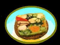 12種類の有機野菜ドミノ