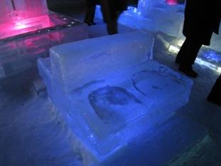 氷のカップルシート