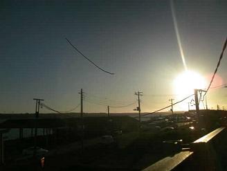 200212銚子大橋夕陽