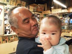 和夫おじいちゃんと