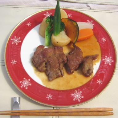 イベリコブタのステーキ