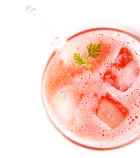 juice01 いちごのジュース