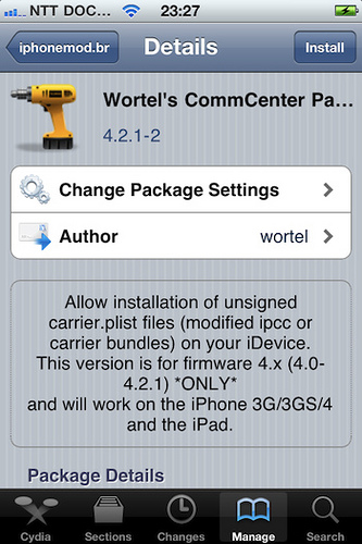 Wortels CommCenter Patch 4.2.1-2