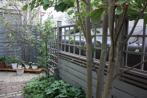 T's Garden Healing Flowers‐ガーデンリフォーム・ウッドフェンス