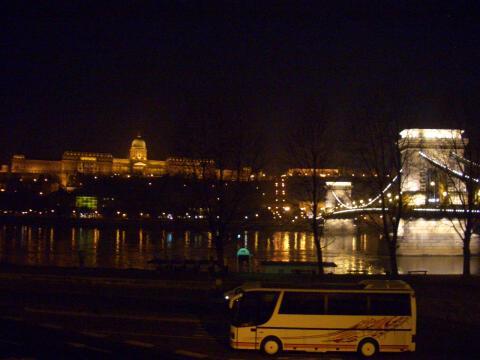 ブダペストの夜景。