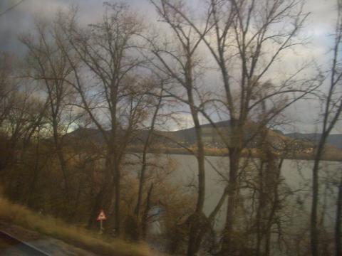 ドナウ川沿いの町