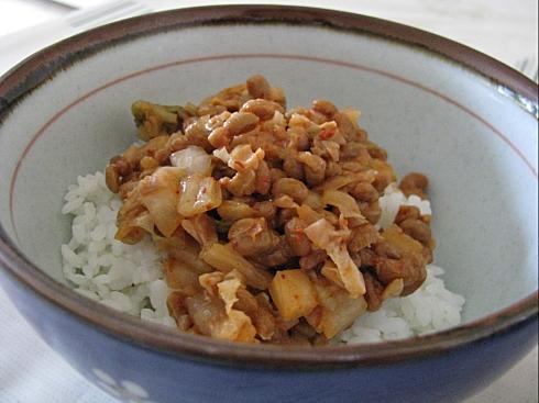 Natto kimchi