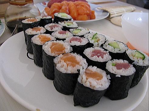 既にまいた寿司