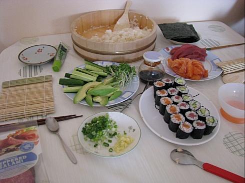 てまき寿司