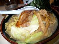 豚骨魚介(細麺で)