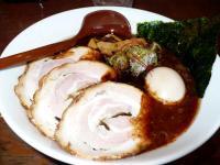 にんにくラードの黒味噌麺