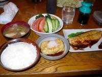 焼き魚定食(さば)