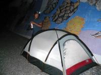 今夜のテント場
