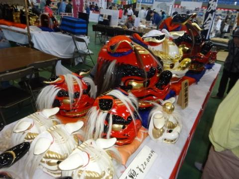 産業祭 獅子頭①