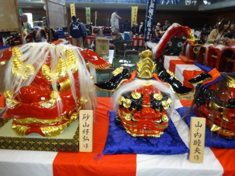産業祭 獅子頭連