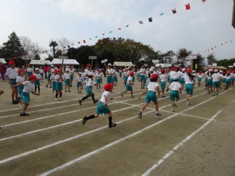 高浜地区体育祭 ②行進