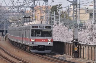 2011年4月10日 東急東横線 多摩川 9000系9012F