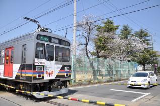 2011年4月18日 上田電鉄別所線 塩田町 1000系1003F