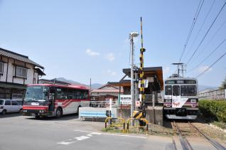 2011年4月18日 上田電鉄別所線 1000系1003F・信州の鎌倉シャトルバス
