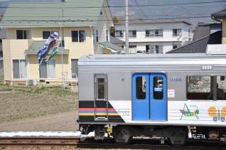 2011年4月18日 上田電鉄別所線 舞田~中野 1000系1003F