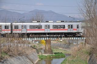 2011年4月18日 上田電鉄別所線 中塩田~下之郷 1000系1004F