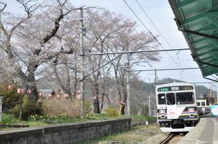 2011年4月18日 上田電鉄別所線 別所温泉 1000系1003F