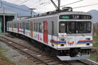 2011年4月18日 上田電鉄別所線 下之郷 1000系1002F