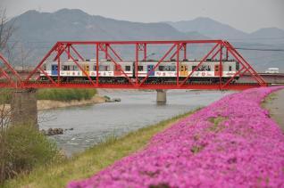 2011年4月30日 上田電鉄別所線 城下~上田 1000系1002F